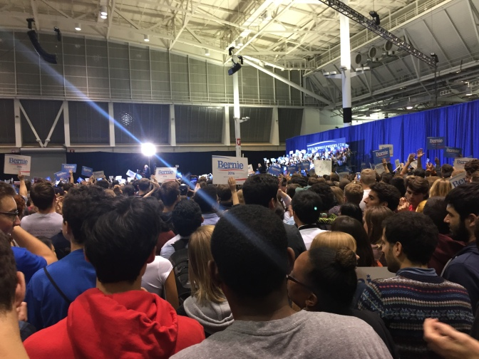 Bernie Sanders Boston Rally